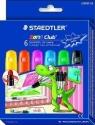Twistery żelowe Staedtler Noris Club na szkło, 6 kolorów