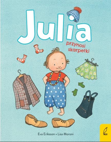 Julia przynosi skarpetki Lisa Moroni