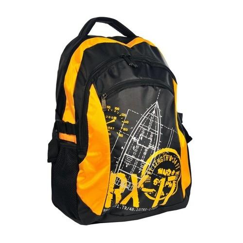 Plecak młodzieżowy RX-17 czarno-żółty