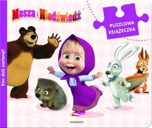 Masza i Niedźwiedź Kim dziś zostanę Puzzlowa