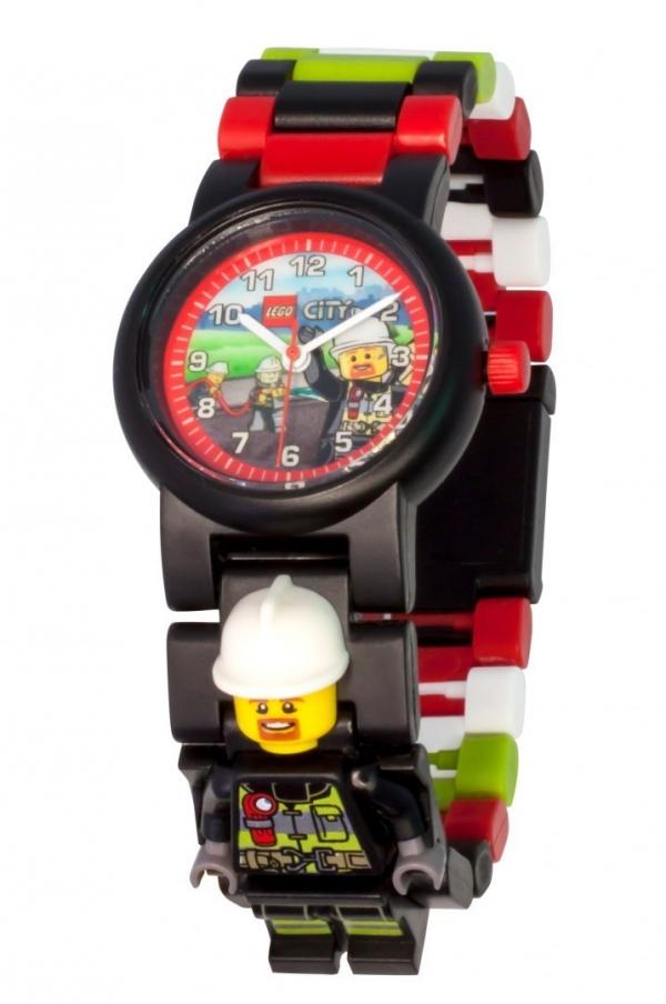Zegarek LEGO®: City - Strażak (8021209)