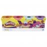 Play-Doh Ciastolina tuba 4-pak (E4869/B5517)