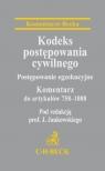 Kodeks postępowania cywilnego Postępowanie egzekucyjne Komentarz do Jankowski J.