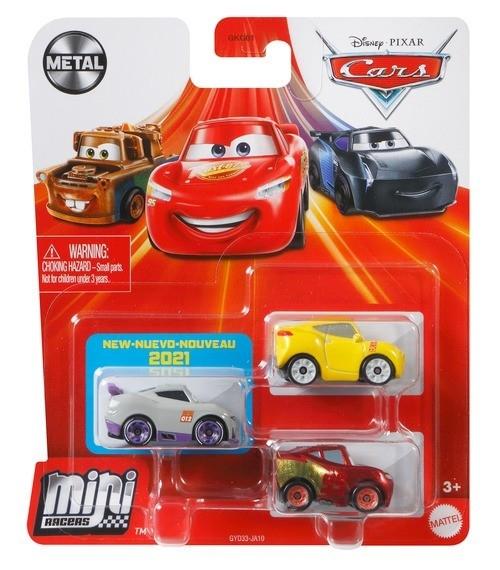 Zestaw pojazdów Auta Mikroauta 3-pak Rusteze (GKG01/GYD33)