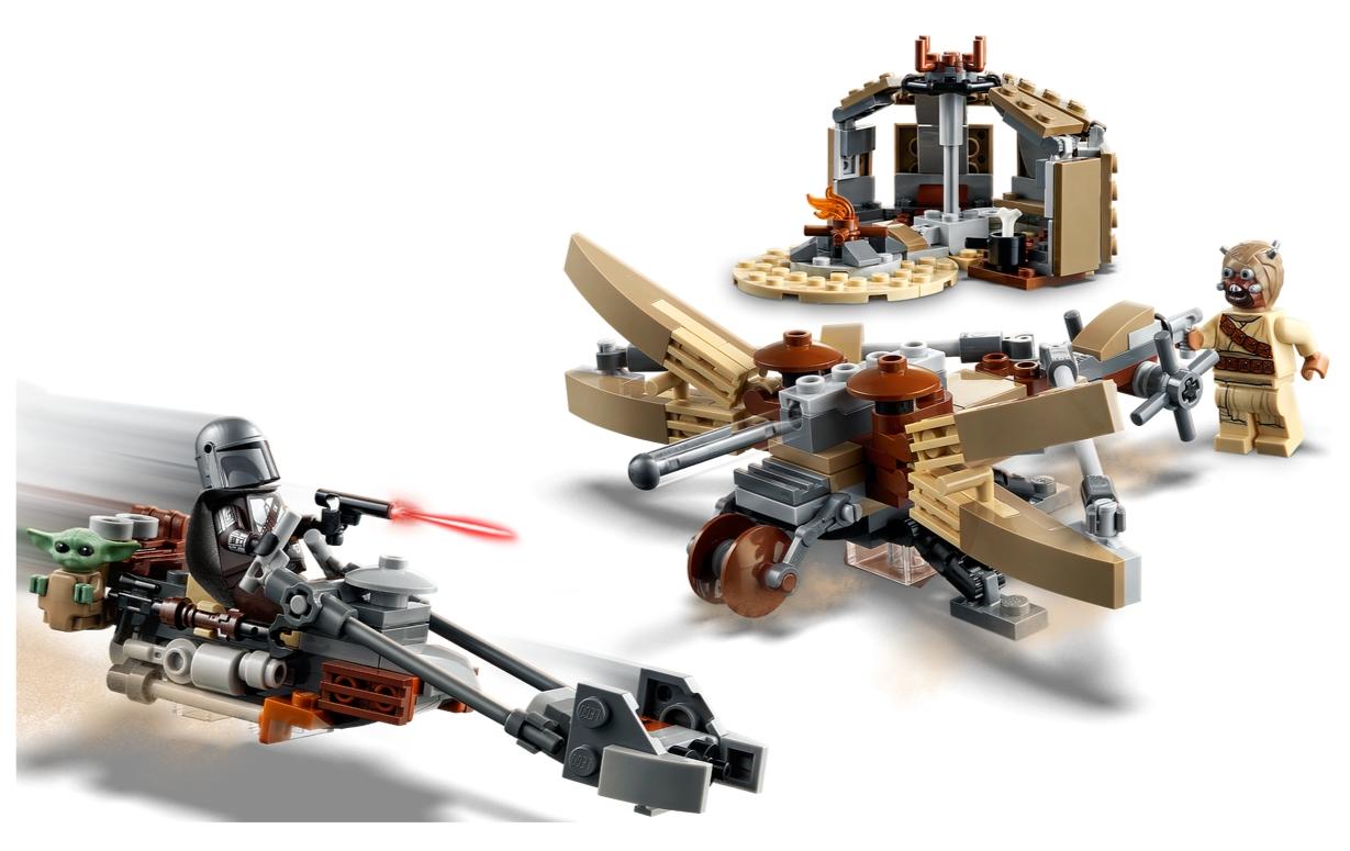 Lego Star Wars: Kłopoty na Tatooine (75299)