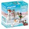 Playmobil Spirit: Zabawa na śniegu (70398)