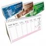 Kalendarz biurkowy 2021 poziomy duży EV-CORP