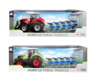 Traktor z maszyną dźwiękiem MIX (Q5373)