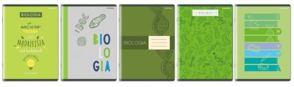 Zeszyt Top 2000 A5/60k, kratka z marginesem - Biologia (400152052)