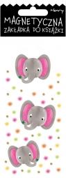 Zakładka magnetyczna - Słonie