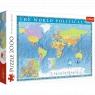 Puzzle 2000: Polityczna mapa świata (27099)