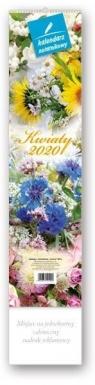 Kalendarz 2020 Notatnikowy Kwiaty