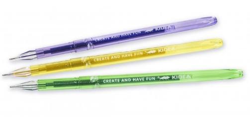 Długopisy diamentowe z brokatem, 6 kolorów (DDB6KA)