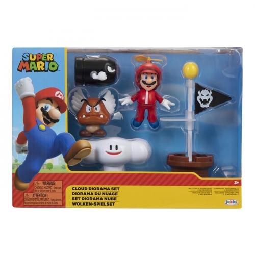 Super Mario Zestaw Cloud Diorama z 6,5 cm figurkami - Dostępność 2/04