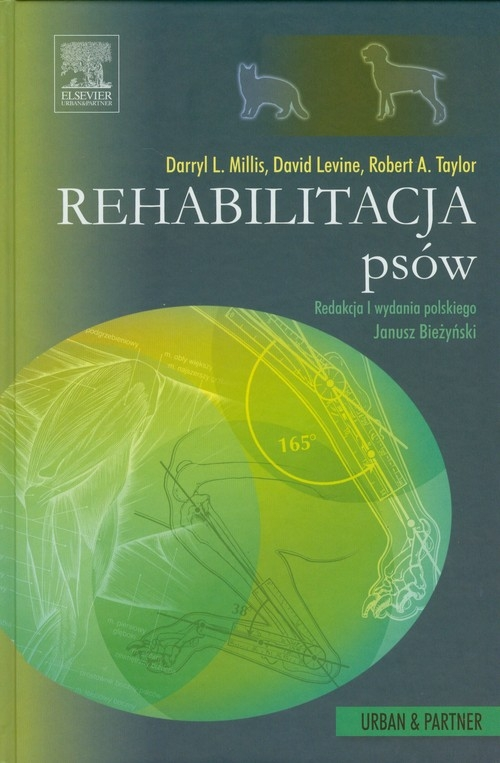 Rehabilitacja psów Millis Darryl L., Levine David, Taylor Robert A.