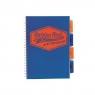 Project Book Neon B5/100K kratka niebieski (3szt)