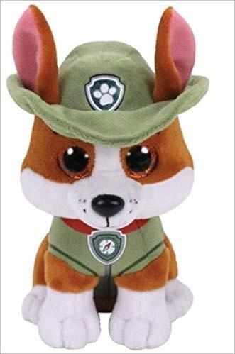 Maskotka Beanie Babies Psi Patrol - Tracker 15 cm (41299)