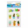 Naklejki wypukłe kaktusy