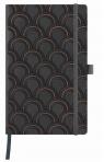 Notatnik 13x21cm linia Castelli Art Deco Copper