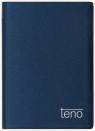 Kalendarz 2019 TENO notesowy metalic niebieski