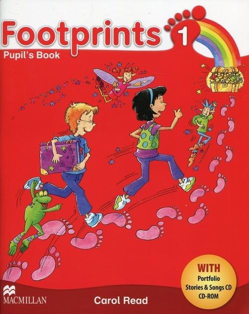 Footprints 1 Książka ucznia + Portfolio + 2CD Read Carol