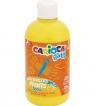 Farba Carioca Baby do malowania palcami 500 ml żółta