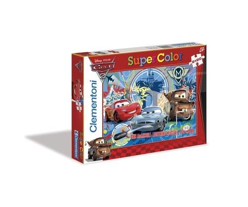 Puzzle Supercolor Auta 2x20 (24699)