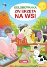 Kolorowanka Zwierzęta na wsi