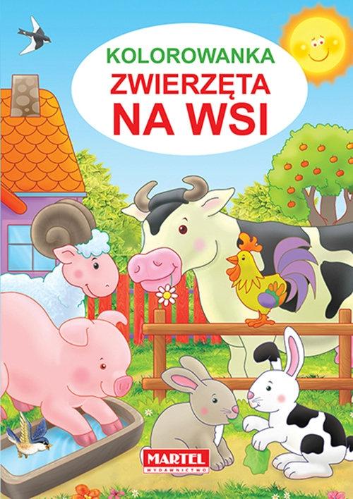 Kolorowanka Zwierzęta na wsi Żukowski Jarosław