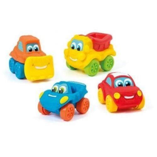 Mięciutki samochodzik - różne rodzaje MIX (14099)