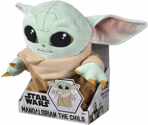 Maskotka Disney Mandalorian Baby Yoda ruchoma 30 cm (6315875802)