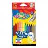Kredki plastikowe wymazywalne, 12 kolorów (91992PTR)