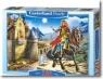 Puzzle 120 Rycerz na koniu CASTOR (12992)