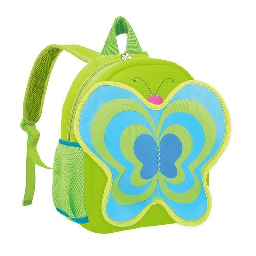 Plecak neoprenowy motyl zielony