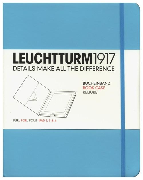 Etui iPad 2-4 Leuchtturm1917 turkusowe