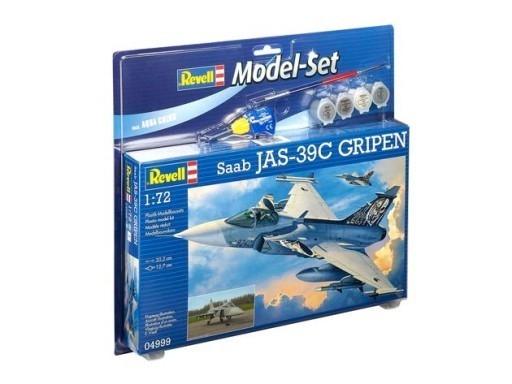 Model plastikowy Myśliwiec SAAB Jas 39C Gripen (64999)
