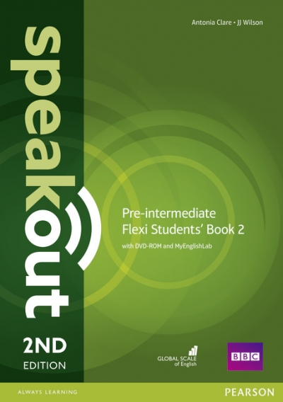 Speakout 2ed Pre-Intermediate Flexi 2 Coursebook with MyEnglishLab