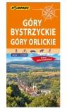 Góry Bystrzyckie, Góry Orlickie. Mapa turystyczna w skali 1:35 000 (wersja