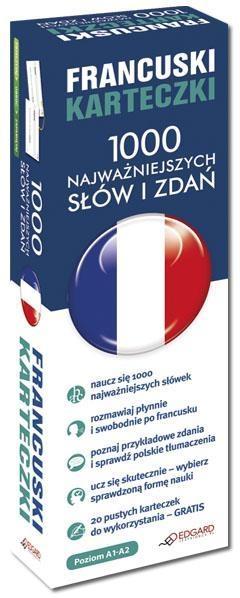 Francuski Karteczki 1000 najważniejszych słów i zdań dla początkujących
