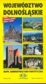 Województwo dolnośląskie Mapa administracyjno-turystyczna