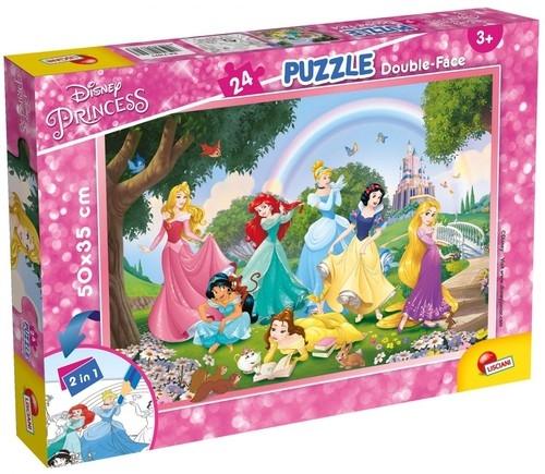 Puzzle dwustronne Plus 24 Disney Princess (73993)