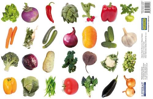 Naklejki Warzywa Praca zbiorowa