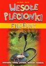 Filofuny Wesołe plecionki + kolorowe wężyki