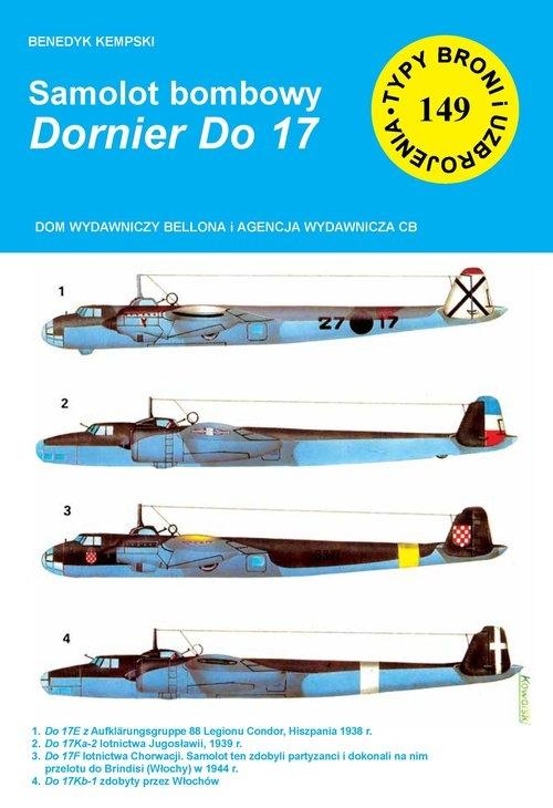 Samolot bombowy Dornier Do 17 Kempski Benedykt
