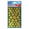 Naklejki bożonarodzeniowe Z Design - Złote gwiazdy (52804)