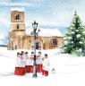 Karnet kwadrat z kopertą Święta Welcoming Choir