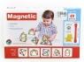 Klocki magnetyczne Bigtoys 40 elementów (BKLO2995)
