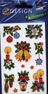Naklejki bożonarodzeniowe Z Design Christmas Stroiki świąteczne