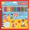 Kredki Stabilo Trio® thick grube, 24 kolory