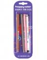 Długopis usuwalny Uszaki 0,5mm, 4 szt. - niebieski (4471-3 BK4)